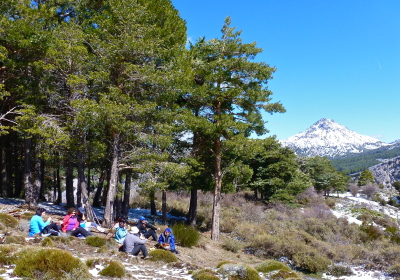 Sierra Nevada Natural Park, Trevenque. Guided hiking holidays spain