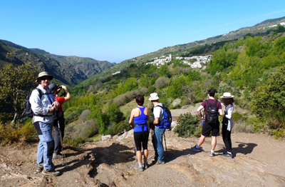 Hiking holidays tours by Sierra Nevada