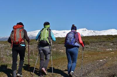 Senderismo y excursiones para grupos en Andalucía y Granada, SierraySol