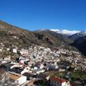 Vista del pueblo desde el sendero