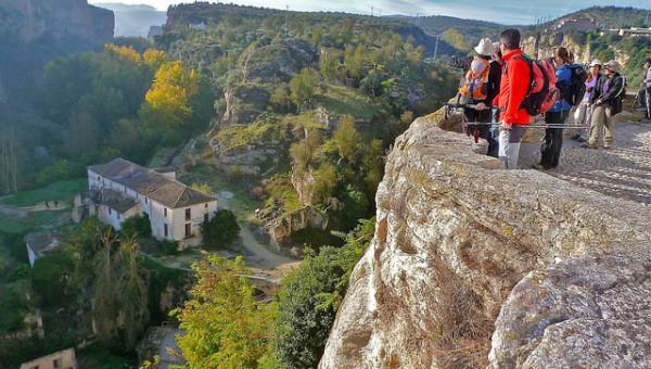 Mirador en los Tajos de Alhama de Granada