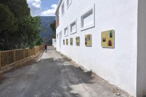 Casas de mineros en la zona de Carriles en Sierra de Lújar