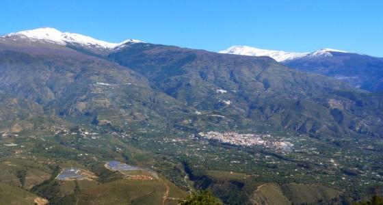 Vistas desde Sierra de Lujar