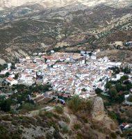 Localidad de Quentar en el Camino Mozárabe de Santiago