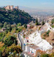 Sacromonte y Alhambra de Granada en una perspectiva a la llegada del Camino de Santiago Mozarabe